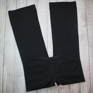 EXPRESS Size 6 Black Dress Pants EDITOR